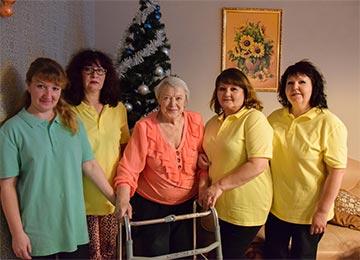 Дом престарелых на месяц для лежачих
