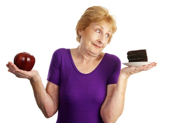 Диета для похудения в пожилом возрасте