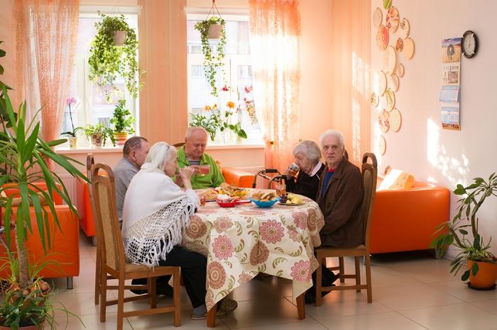 Жизнь в частном доме престарелых