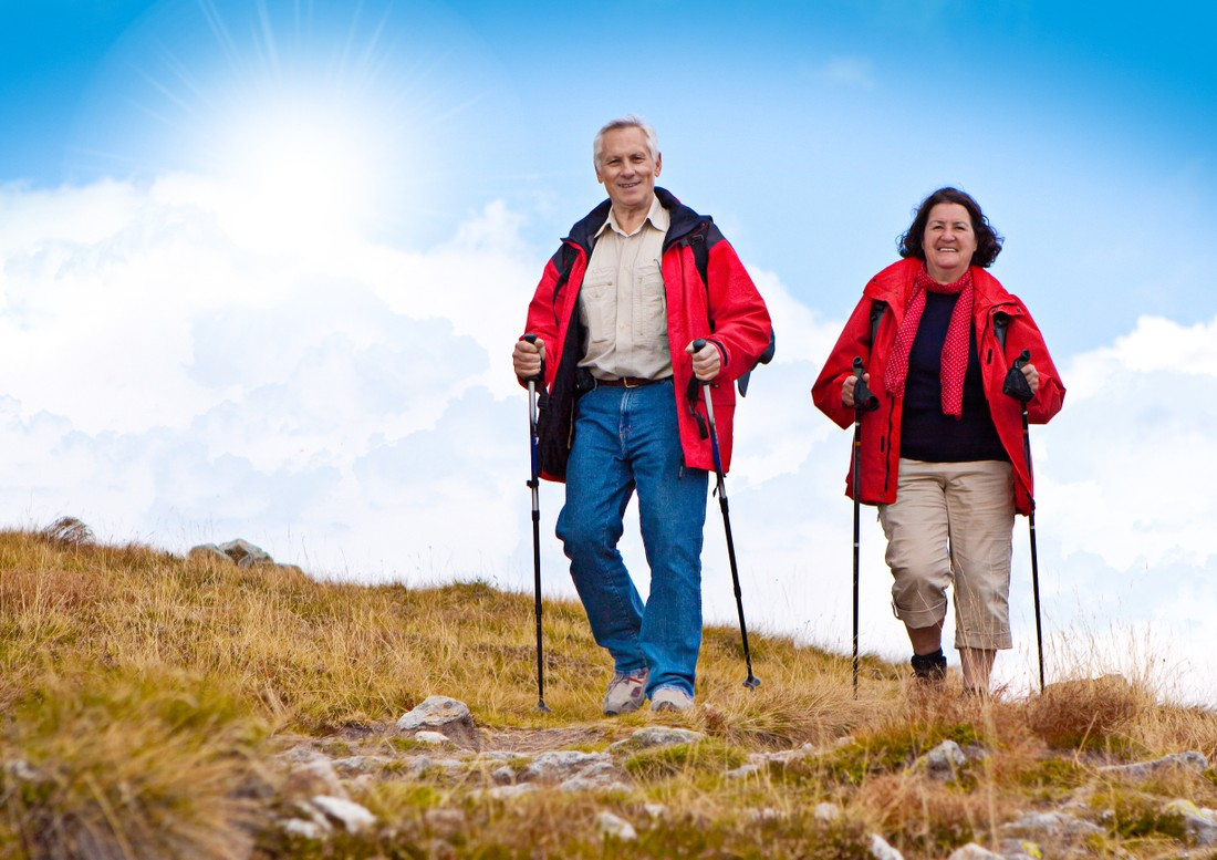 Польза от скандинавской ходьбы