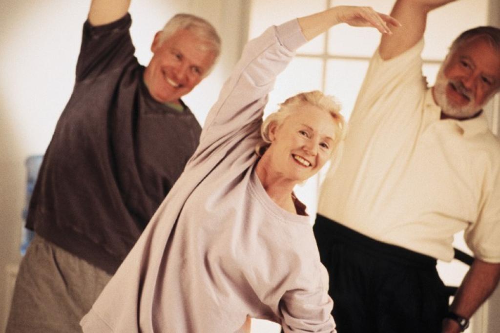 Поддержание здоровья пожилого человека