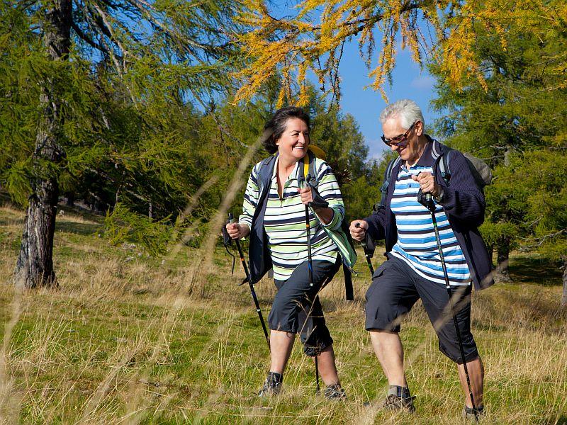 Скандинавская ходьба помогает решить проблемы со здоровьем